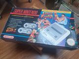 Scatola NINTENDO SNES Street Fighter 2 Edition