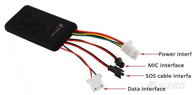 Antifurto GSM localizzatore GPS Tracker SOS