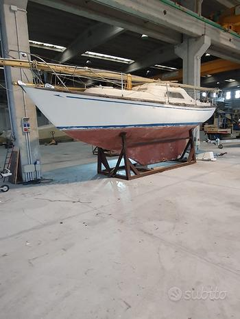 Barca a vela inglese 1968
