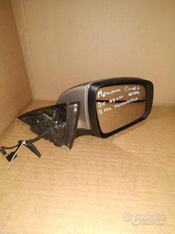 Specchietto retrovisore per mercedes classe c dx