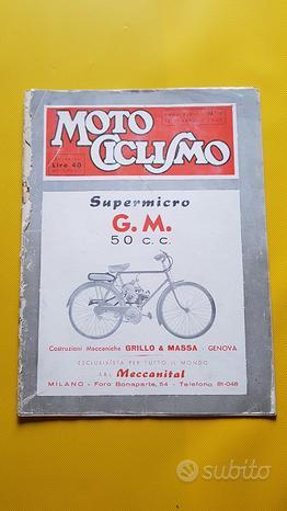 MOTOCICLISMO Rivista n. 9 1947 Volpe Lambretta A