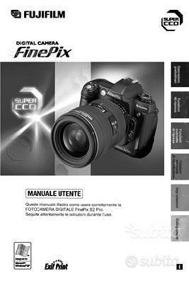 Fuji Libretto di Fotocamere e Flash AnaDigit vari