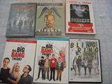 Dvd film MARVEL, Big Bang Theory e vari