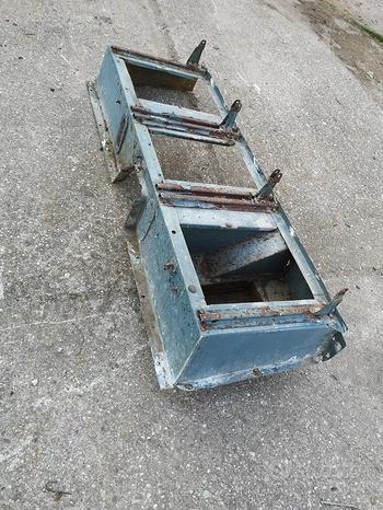 Tetto cassone e laterali per Land rover 88