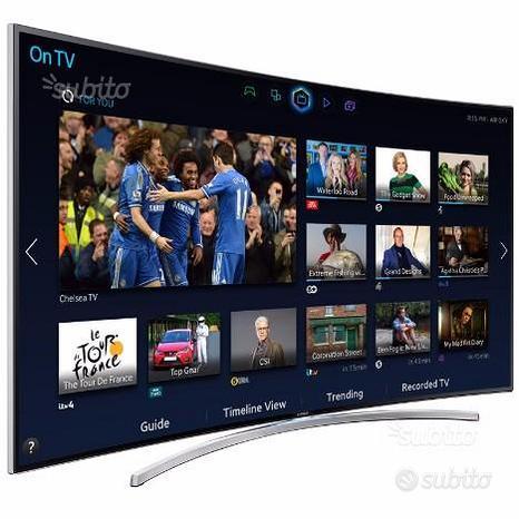 """SAMSUNG UE48H8000 LED Smart TV 48"""" CURVO 3D"""