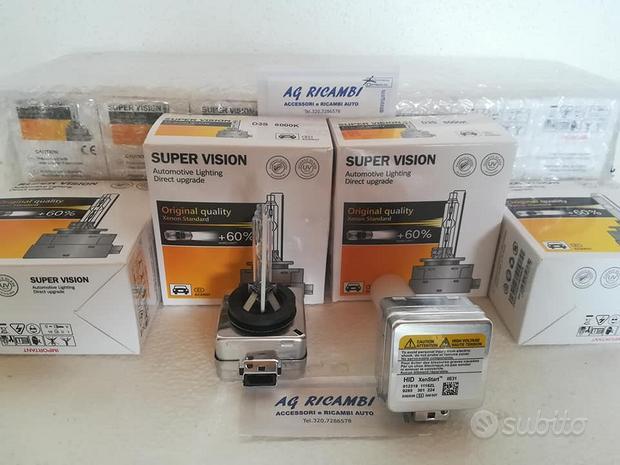 Coppia lampade D3S Bixenon 5000 8000K SUPER VISION
