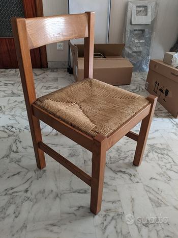 Sedie in legno vintage