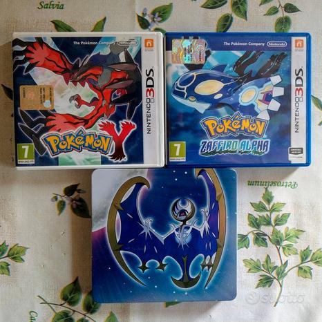 Svariati giochi Pokémon per 3DS e DS
