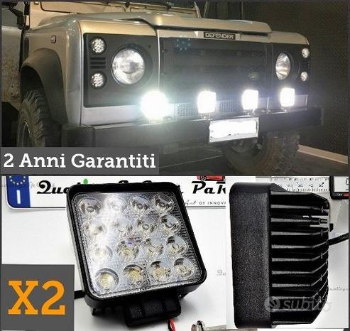 2 Faretti LED per Land Rover OFF ROAD FUORISTRADA