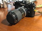 2 macchine fotografiche analogiche Nikon