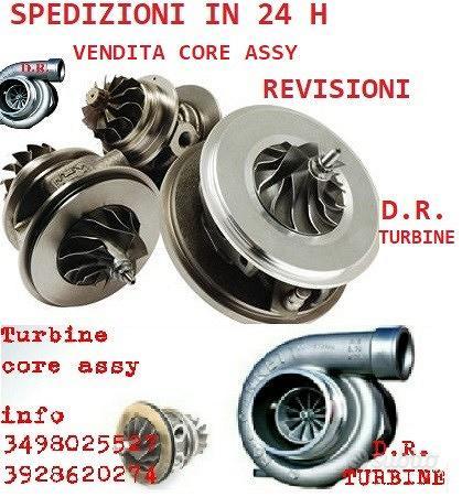 Turbina core assy 1.3 m 95cv garanzia 54359880027