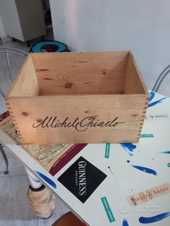 Michele Chiarlo cassetta di legno