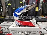 AIROH Casco Cross Twist 2.0 Tech Blue Motor's Pass