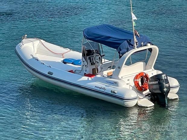 Gommone Nuova Jolly King 670 con 150 hp e carrello