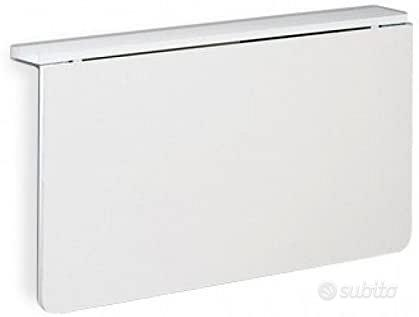 Tavolo bianco pieghevole a muro Calligaris