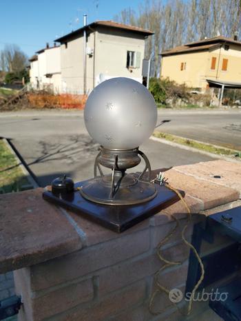 Antica lampada Liberty '900