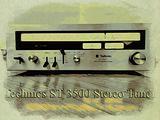 TECHNICS ST-3500 Stereo Tuner MINT