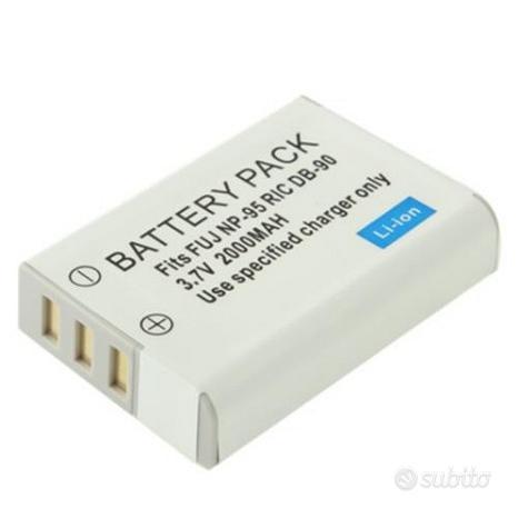 Batteria NP-95 2000 mAh compatibile Fujifilm