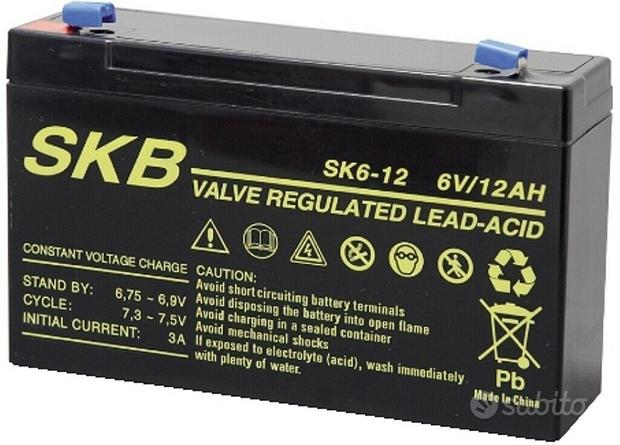 Batteria ermetica ricaricabile al piombo, SKB