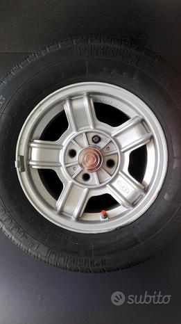 4 cerchi+pneu FPS BMW S3 55x13