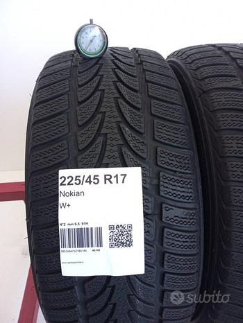 Nokian 225 45 17 Gomme Usate