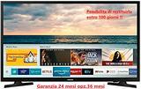 Tv 32 pollici smart samsung dvbt2 garanzia 24 mesi