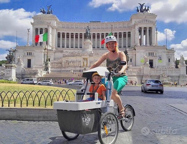 TAGA FAMILY BIKE trasporto 1 bambino - NUOVA