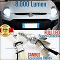 Kit fari LED CANBUS Fiat Punto Evo ANABBA ABBA H4