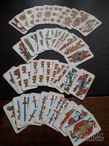 Carte da gioco romane Mulino Bianco