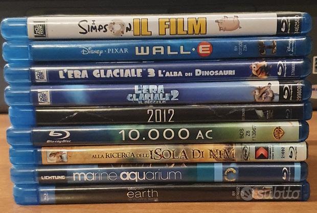 """Film/documentari alta definizione """"blu-ray"""""""