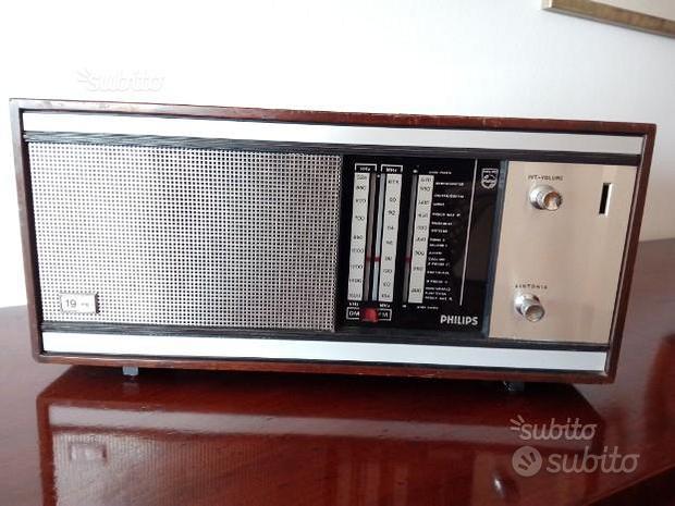 Radio a valvole Philips 19-RB-Riceve om-FM