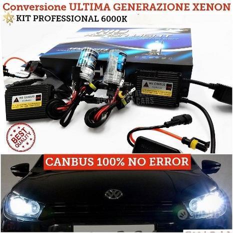 KIT XENON H7 POFESSIONALE Luci auto lampade 6000K