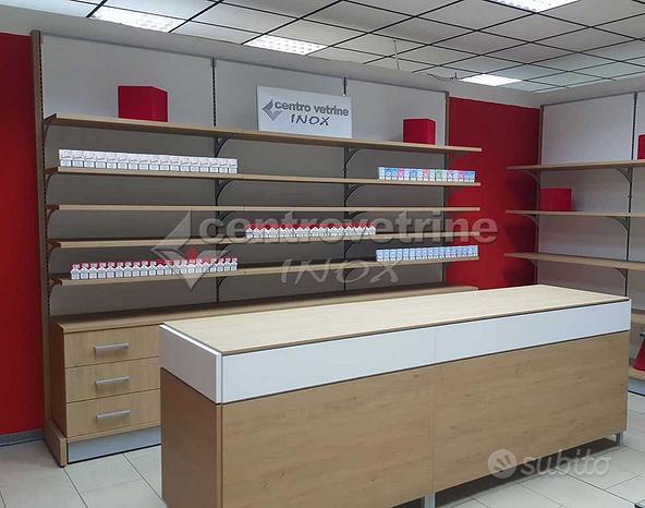 Arredamento per tabaccheria con banco vendita
