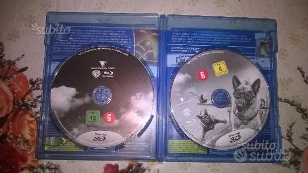 Blu ray 3d due film e dvd cartoni originali