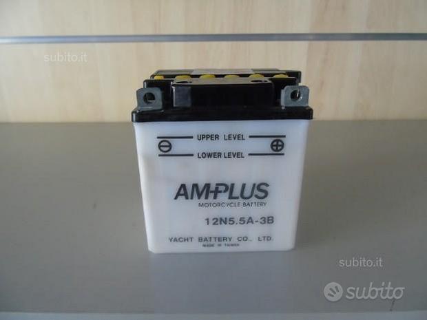 "Batteria moto Amplus 12N5.5A - 3B ""NUOVA"""