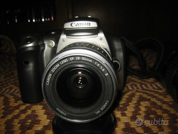 Fotocamera digitale canon eos 300d + ob canon
