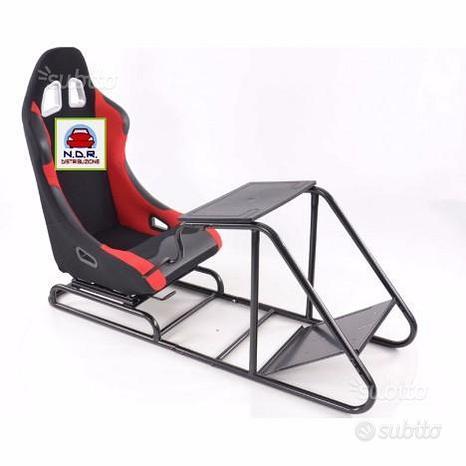 Simulatore di guida ROSSO NERO PS3 PS4 XBOX WII
