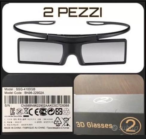 2x occhiali 3D attivi Samsung