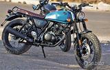 NUOVO Archive Motorcycle Scrambler 125 BLU OPACO
