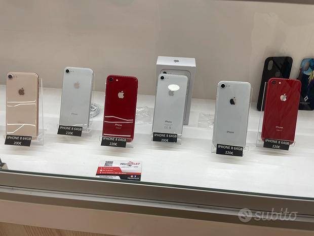 IPhone 8 64GB in garanzia 3 MESI