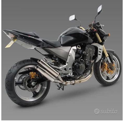 Scarichi e laser extremis acciaio Kawasaki Z1000