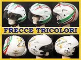 """CASCO MOTO Mod. TORNADO """"FRECCE TRICOLORI"""""""