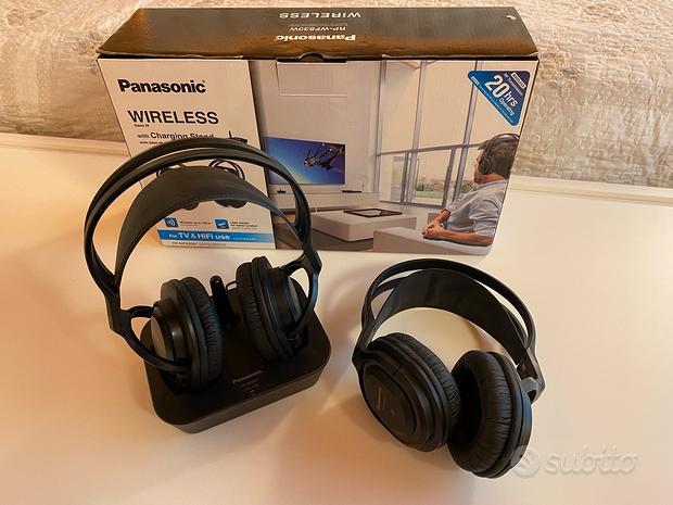 2 Cuffie wireless Panasonic con garanzia
