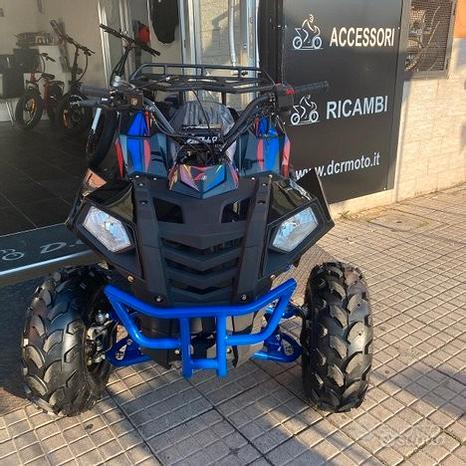 Quad commander 125cc 4t con retromarcia r8 2021