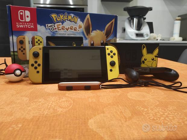 Nintendo Switch Pokemon go con molti accessori