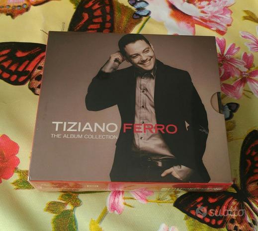 Cd Tiziano Ferro The Album Collection Limited 4 cd