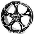 4 cerchi in lega Alfa romeo Giulia da 19 Gmp Drak