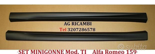 Minigonne mod. TI in ABS Alfa Romeo 159