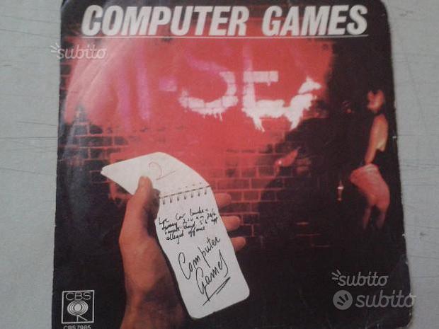 45 giri - Compute games - MiSex - (017)