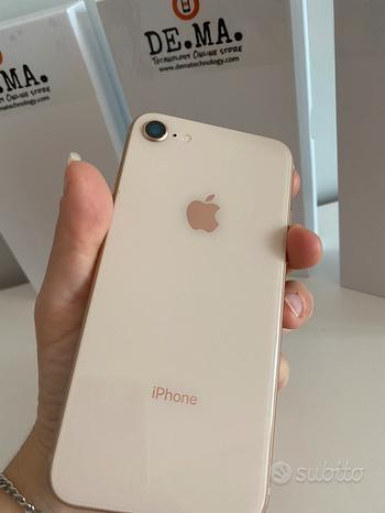IPhone 8-64gb Gold 12 mesi garanzia